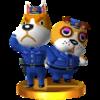 Trofeo de Vigilio y Nocencio SSB4 (3DS)