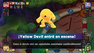 Yellow Devil en el tablero de Mundo Smash SSB4 (Wii U)
