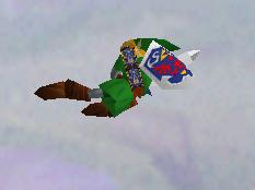 Ataque aéreo hacia atrás de Link (1) SSB