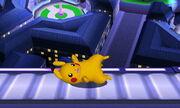 Burla inferior Pikachu SSB4 (3DS)