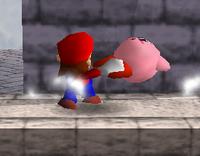 Lanzamiento trasero de Mario (1) SSB