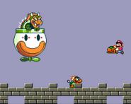 Mechakoopas lanzados por Bowser Super Mario World