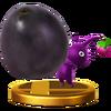 Trofeo de Pikmin morado SSB4 (Wii U)