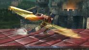 Ataque fuerte lateral de Ike (2) SSB4 (Wii U)