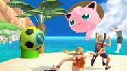 Créditos Modo Leyendas de la lucha Jigglypuff SSB4 (Wii U)