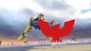 Pose de victoria de Captain Falcon (3-1) SSB4 (Wii U)