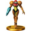 Trofeo de Samus SSB4 (Wii U)
