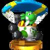 Trofeo de Yoshi (Huevomóvil) SSB4 (3DS)