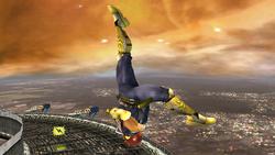 Ataque aéreo hacia arriba Captain Falcon SSBB