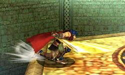 Ataque de recuperación desde el borde Ike (2) SSB4 (3DS)