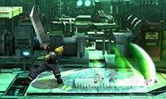 Haz espada en tierra Cloud (2) SSB4 (3DS)