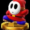 Trofeo de Shy guy SSB4 (Wii U)