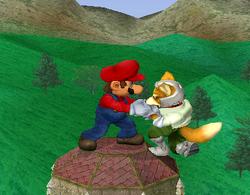Agarre de Mario SSBM