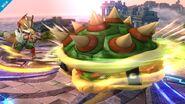 Bowser atacando SSB4 (Wii U)