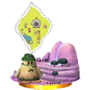Trofeo de Magicant Smash 3DS