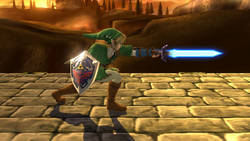 Ataque normal de Link (3) SSB4 (Wii U)