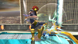 Golpiza Captain Falcon SSBB