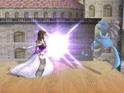 Lanzamiento delantero Zelda SSBB