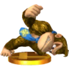 Trofeo de Donkey Kong (alt.) SSB4 (3DS)