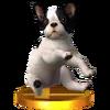 Trofeo de Nintendog SSB4 (3DS)