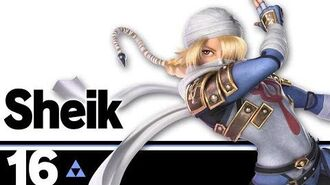 16 Sheik – Super Smash Bros. Ultimate