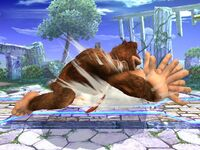 Ataque Smash lateral Donkey Kong SSBB