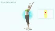 El saludo al sol Wii Fit