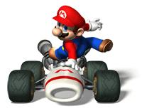 Pegatina de Mario Mario Kart DS SSBB