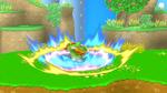 Pisotón furioso SSB4 (Wii U)