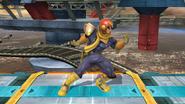 Pose de espera de Captain Falcon (2-2) SSB4 (Wii U)