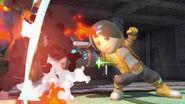 Tirador Mii y Luigi en Wrecking Crew SSBU