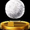 Trofeo de Bola de humo SSB4 (Wii U)