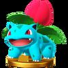 Trofeo de Ivysaur SSB4 (Wii U)