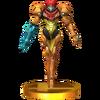 Trofeo de Samus SSB4 (3DS)