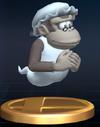 Trofeo de Wrinkly Kong SSBB