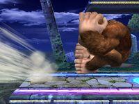 Ataque de recuperación de borde Donkey Kong SSBB (1)