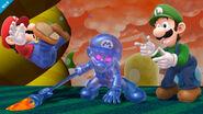 Mario Oscuro, Mario y Luigi en SSB4 (Wii U)