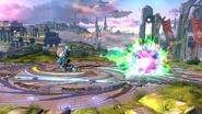 Tirador Mii usando Esfera de Plasma (2) SSB4 (Wii U)