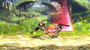 Ataque dorsal (3) SSB4 (Wii U)