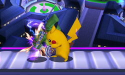 Golpiza Pikachu SSB4 (3DS)