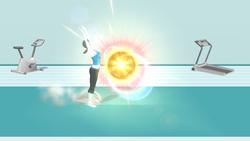 Saludo concentrado (2) SSB4 (Wii U)