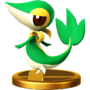 Trofeo de Snivy SSB4 (Wii U)