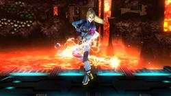 Burla inferior de Samus Zero SSB4 (Wii U)