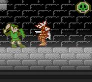 Clásico Zelda II - The Adventure Of Link SSB4 (Wii U)