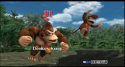 Donkey Kong y Diddy Kong seleccion ESE SSBB