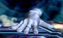 Master Hand Palmada Vertical (2) SSB4 (3DS)