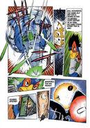 Pagina del comic Farewell Beloved Falco de Star Fox