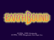 Pantalla de titulo de EarthBound