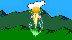 Trampolín meteórico (2) SSB4 (Wii U)