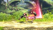 Ataque dorsal (4) SSB4 (Wii U)
